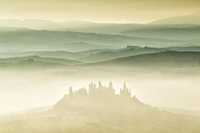 San Quirico d'Orcia, Tuscany, Italy.