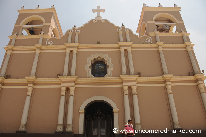 Church in Totonicapan - Guatemala