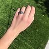 1.11ct Old European Cut Diamond Filigree Ring 2