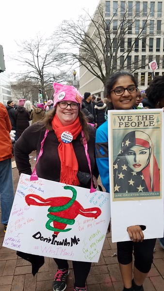 Women's March on Washington, Jan 21, 2017