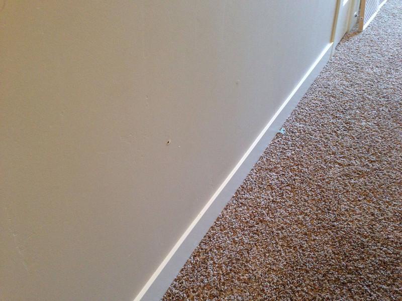 Hole in wall -  2nd fl hallway