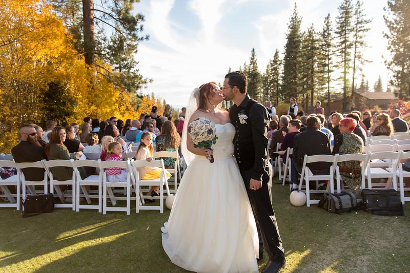 Courtney & Tom Wedding in Tahoe