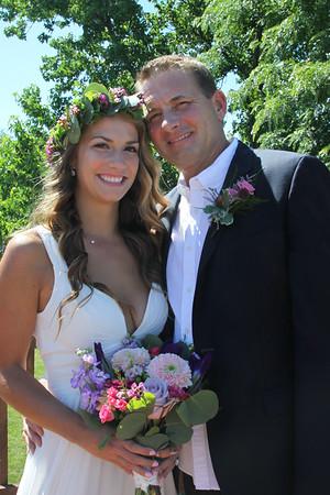 July 8, 2018. Ella and John's Wedding reception dinner at the VBC.