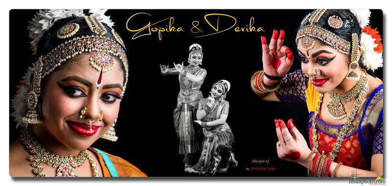 Gopika & Devika Thampi's Pre-Arangetram Portraits 2020