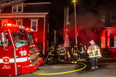 4 Alarm Structure Fire - 409 E 7th St, South Boston, MA - 2/5/20