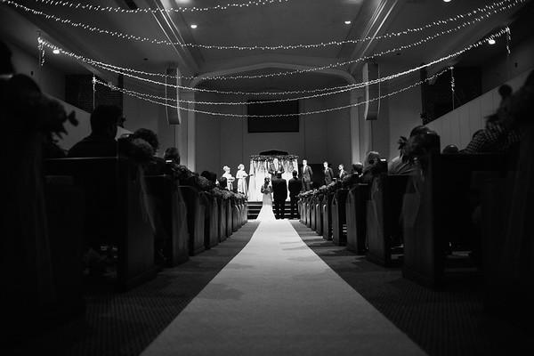 The Williams wedding at Trinity Baptist in Oklahoma City