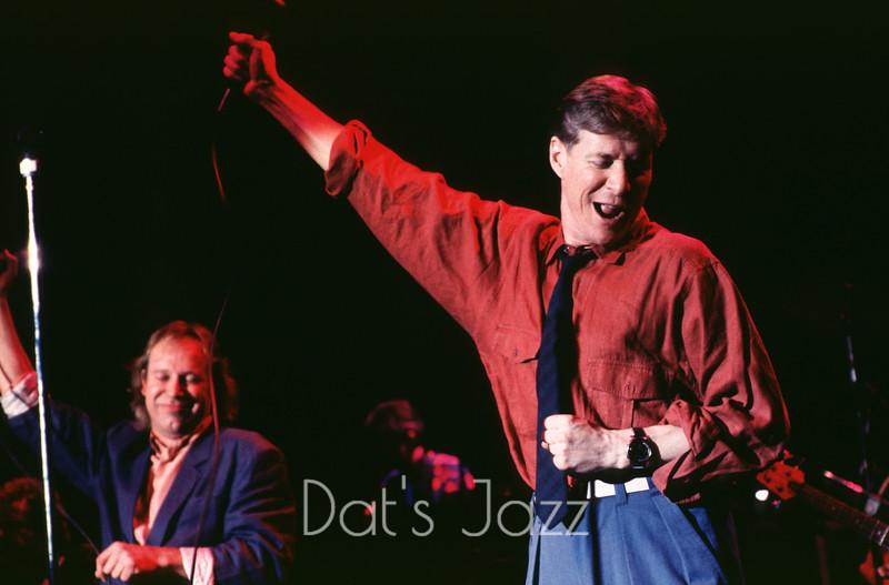 DJJ 0194Paul Jones & Dave KellyThe Blues Band7 December 1991The Town & Country Club, Londdon