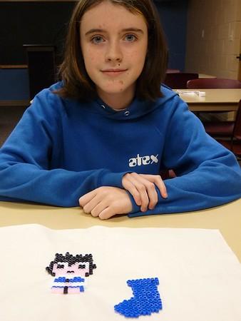 Teen 8-Bit Craft (Fuse Beads) Dec. 9, 2009