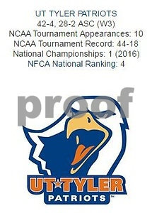 UT Tyler softball logo