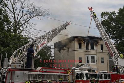 Lawrence, MA - 3rd Alarm, 51 Doyle Street, 7-20-17