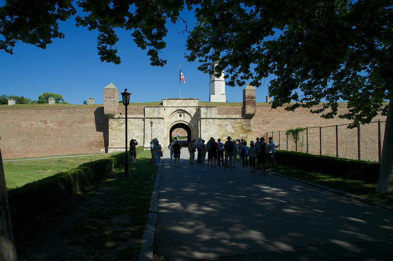 Entry to Kalemegdan Castle in Belgrade