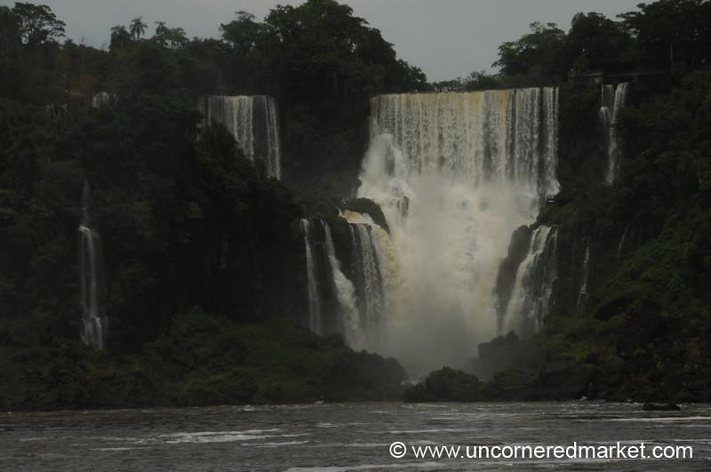 Small Waterfall - Iguazu Falls, Argentina