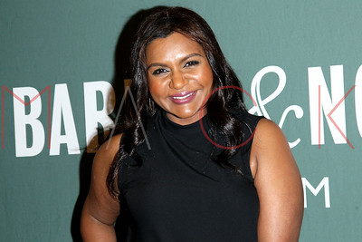 """NEW YORK, NY - OCTOBER 02:  Mindy Kaling Signs Copies Of Her New Book """"Why Not Me?"""" at Barnes & Noble Tribeca on October 2, 2016 in New York City."""