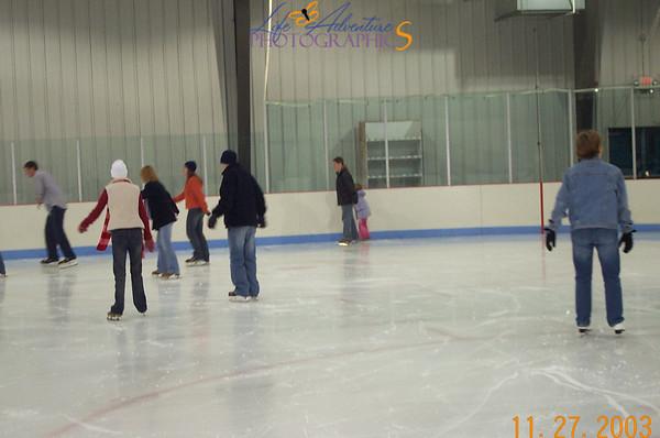 November 27- ice skating