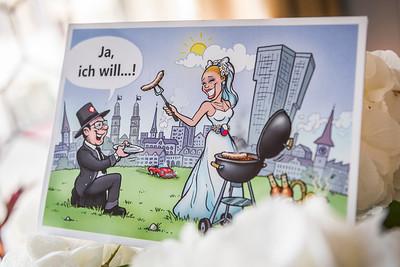 Zivile Hochzeit von Jana & Urs