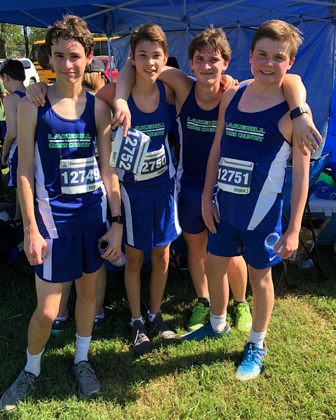 Cross Country at Jesuit XC Classic 10.5.18