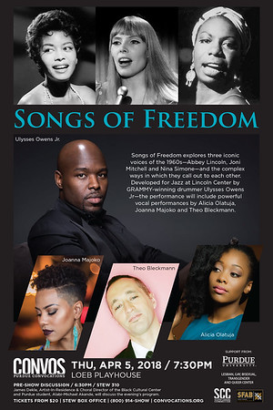 Songs of Freedom - April 5, 2018
