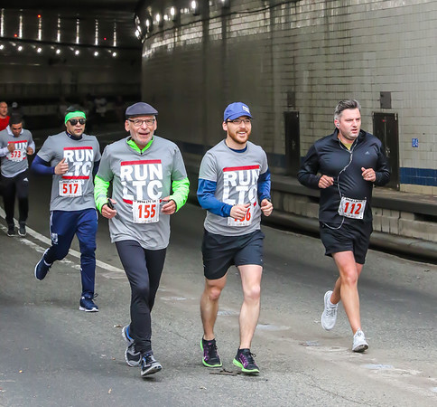 Elite Race - Finish at End of Tunnel
