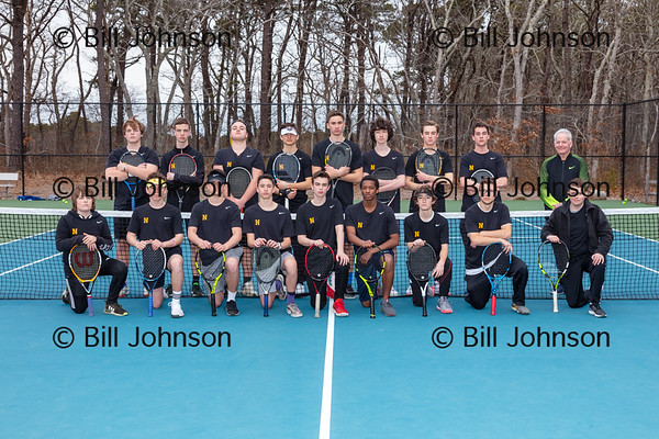 Nauset Boys V Tennis Team and Roster 2018_2019