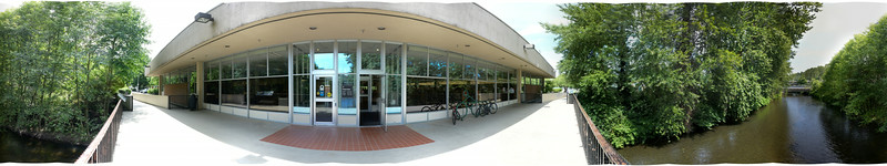 Cedar River Librarys Last Day in 360 degrees