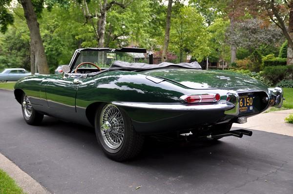 brochstein's jaguar e type
