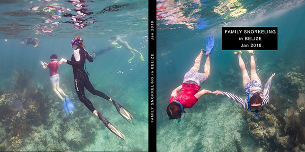 Belize Snorkelling 2018 - Book