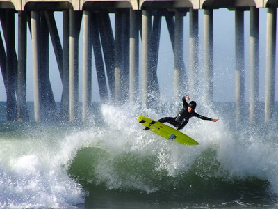1/1/21 * DAILY SURFING PHOTOS * H.B. PIER
