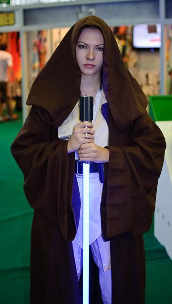 Jedi girl of Igromir 2010