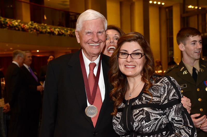 Doug Pitcock Jr. '49, Corina Dominguez