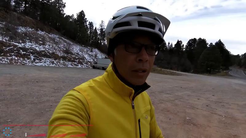 Mixed Road/Dirt Ride Cloudcroft - 1 December 2014