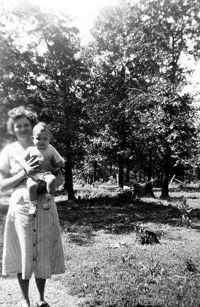 Wilma & Raymond 1950.