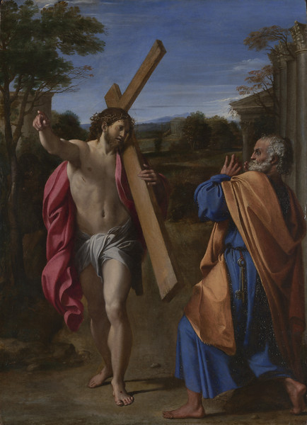 Christ appearing to Saint Peter on the Appian Way