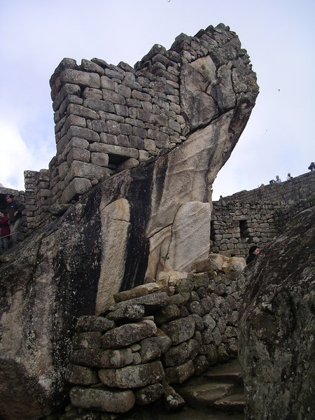 The wing of a condor, an impressive sculpture by the Incas.
