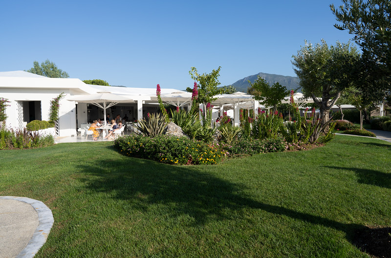 Ouzo Restaurant at the Ikos Dassia, Corfu