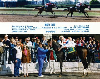 MONEY CLIP - 10/15/1997