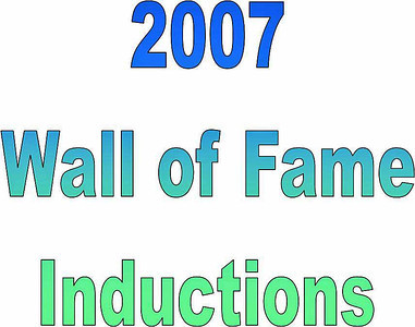 2007 Thirsty's 2 Wall of Fame Induction