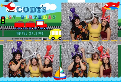 Cody's 1st Birthday (Mini Open Air Photo Booth 2)