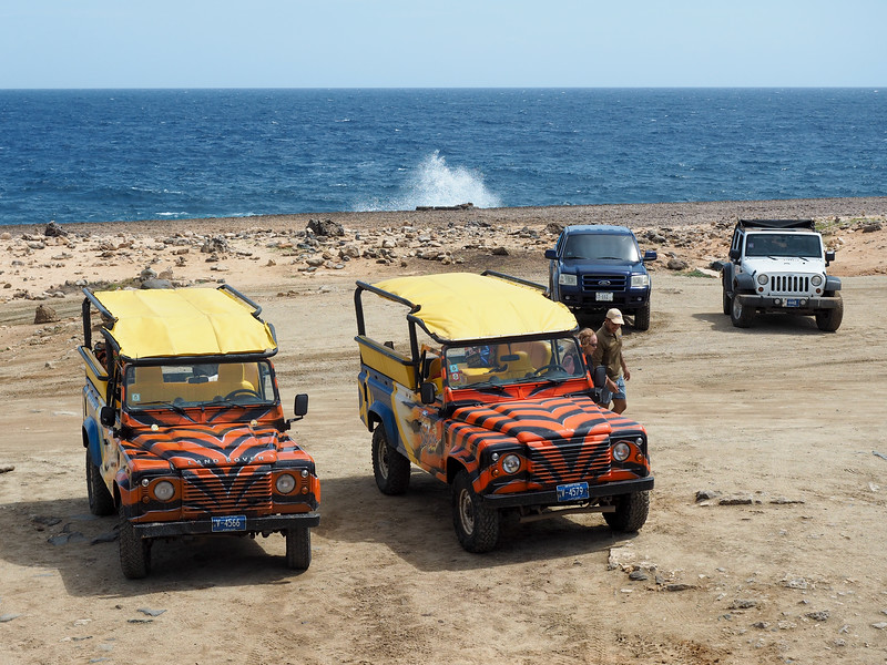Off-road tour in Aruba