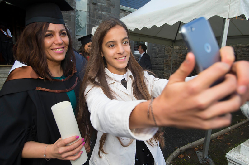28/10/2015. Waterford Institute of Technology Conferring are Natalie and Sophia Papirova from Dungarvan. Picture: Patrick Browne