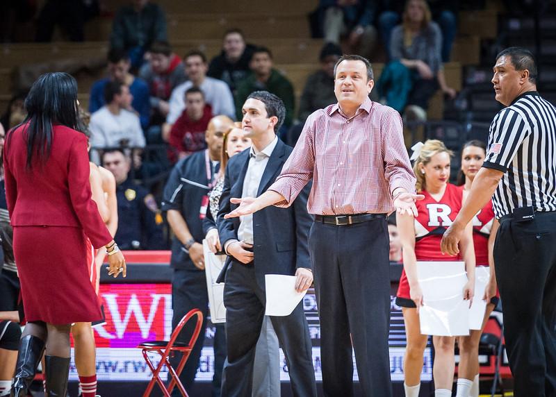 Louisville head coach Jeff Walz