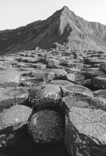 A View of the Giants Causeway, Northern Ireland