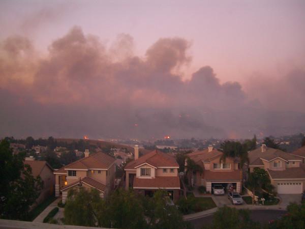 Yorba Linda / Anaheim Hills Fire