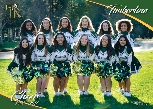 2016/2017 Timberline Cheer