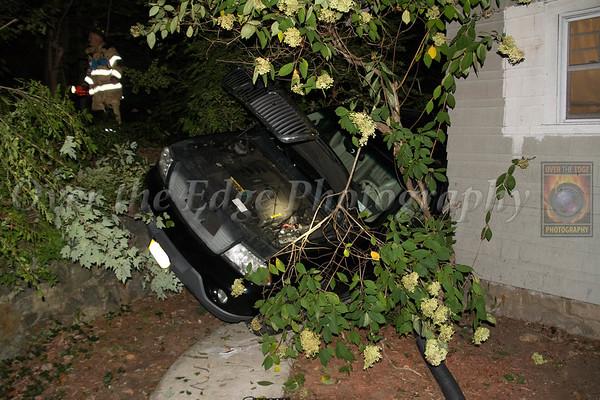 Glen Cove Car Vs House 9/28/14