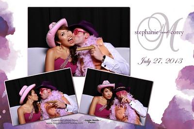 Stephanie & Corey Wedding