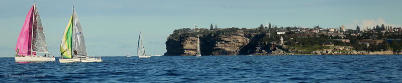 Sailing Manly to Sydney Australia