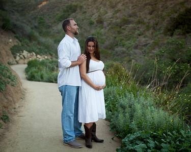 Chantel and Brad Maternity