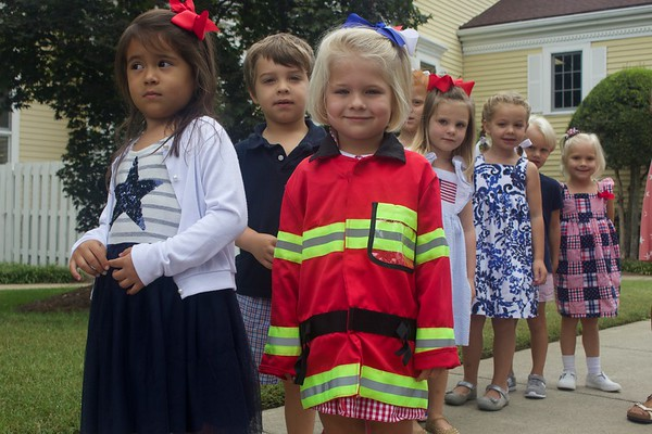 MB Preschoolers Honor First Responders