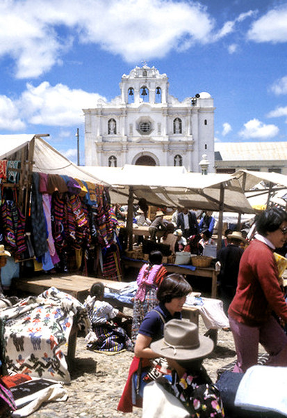 Marketplace in Chichicastenango.
