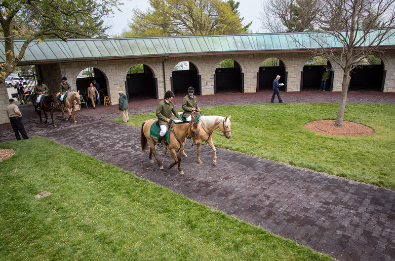 Outriders at Keeneland 7/26/18.